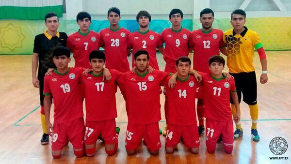 Молодежная сборная Таджикистана по футзалу, архивное фото - Sputnik Таджикистан