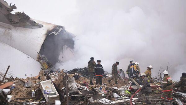 Крушение грузового Boeing под Бишкеком - Sputnik Таджикистан