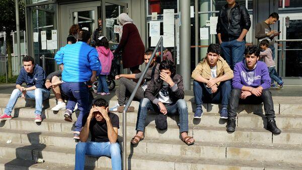 Мигранты в Германии, архивное фото - Sputnik Таджикистан