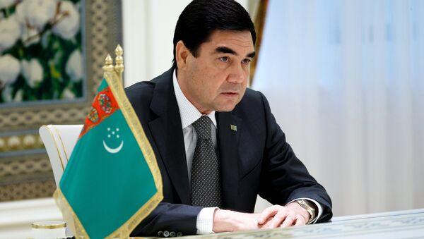 Президент Туркменистана Гурбангулы Бердымухамедов, архивное фото - Sputnik Тоҷикистон