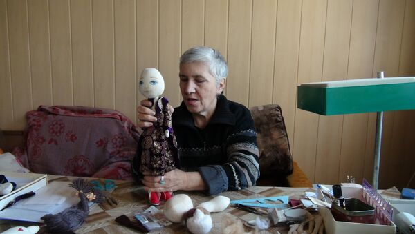 Азза Дзарасти-Каноат, мастерица кукол из Таджикистана - Sputnik Таджикистан