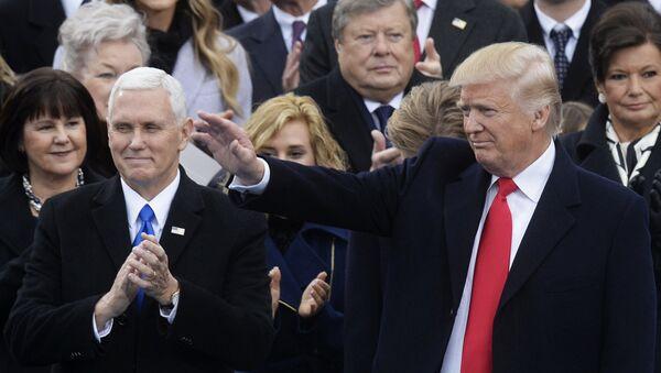Инаугурации 45-го президента США Дональда Трампа - Sputnik Тоҷикистон