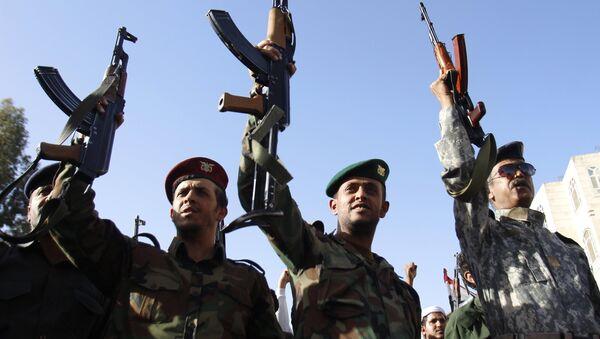 Акция протеста в Йемене - Sputnik Таджикистан