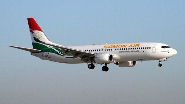 Самолет авиакомпании Сомон Эйр. Архивное фото - Sputnik Таджикистан