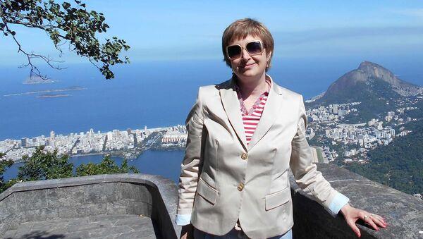 Анна Очкина, социолог и заместитель Директора Института глобализации и социальных движений - Sputnik Таджикистан