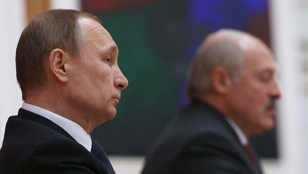 Беседа Президента Российской Федерации Владимира Путина с Президентом Республики Белоруссия Александром Лукашенко - Sputnik Таджикистан