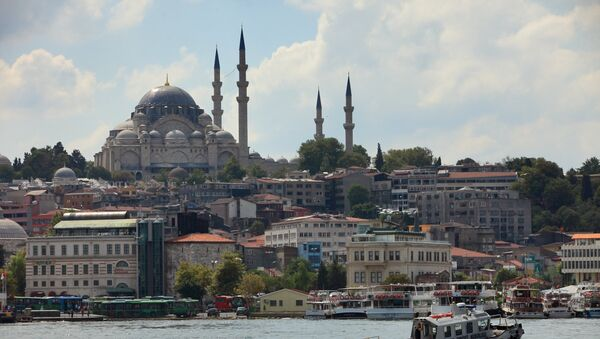 Вид на Стамбул, Турция, архивное фото - Sputnik Тоҷикистон