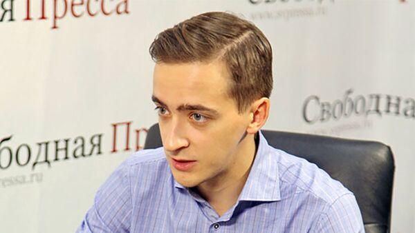 Директор московского офиса компании Urus Advisory Алексей Панин - Sputnik Таджикистан