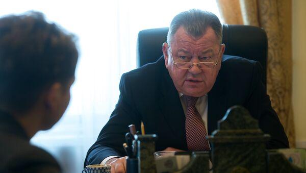 Замглавы МИД РФ Олег Сыромолотов, архивное фото - Sputnik Тоҷикистон