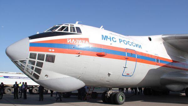 Самолет МЧС России «Ил-76» - Sputnik Тоҷикистон