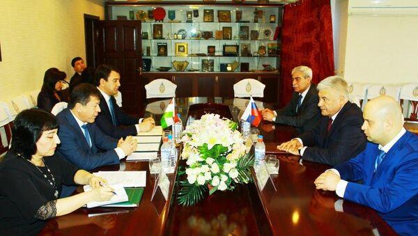 Главы МВД России и Таджикистана - Sputnik Таджикистан