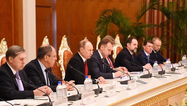 Межгосударственные переговоры между Россией и Таджикистаном - Sputnik Таджикистан