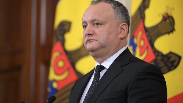 Президент Молдовы Игорь Додон, архивное фото - Sputnik Таджикистан