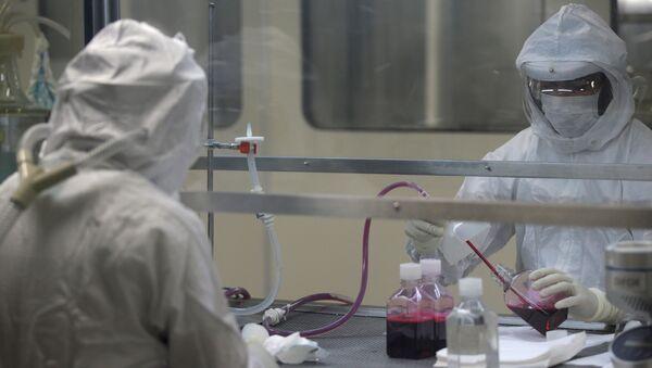 Лаборатория, архивное фото - Sputnik Тоҷикистон