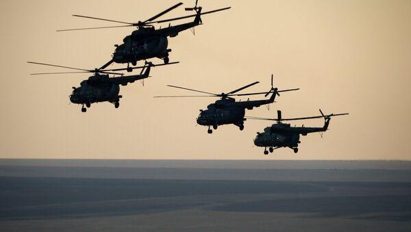 Вертолеты, архивное фото - Sputnik Таджикистан