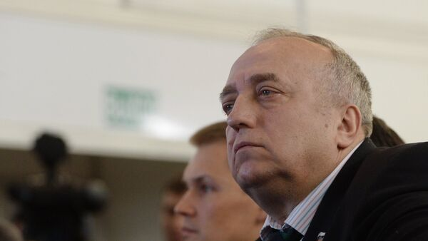 Первый заместитель председателя Комитета Совета Федерации по обороне и безопасности Франц Клинцевич, архивное фото - Sputnik Таджикистан