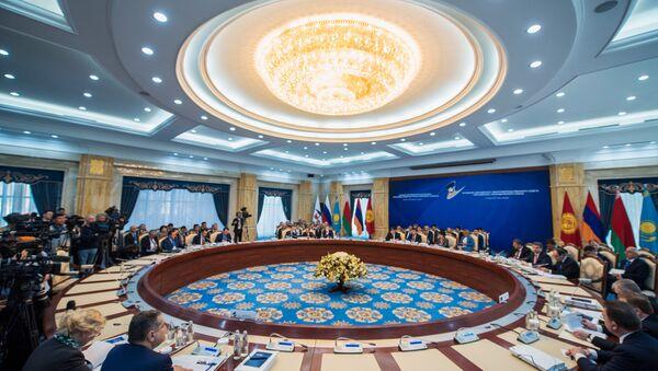 Заседание Евразийского межправительственного совета в расширенном составе 7 марта 2017 - Sputnik Тоҷикистон