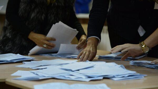 Подсчет голосов на выборах - Sputnik Таджикистан