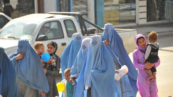 Афганские женщины, архивное фото - Sputnik Таджикистан