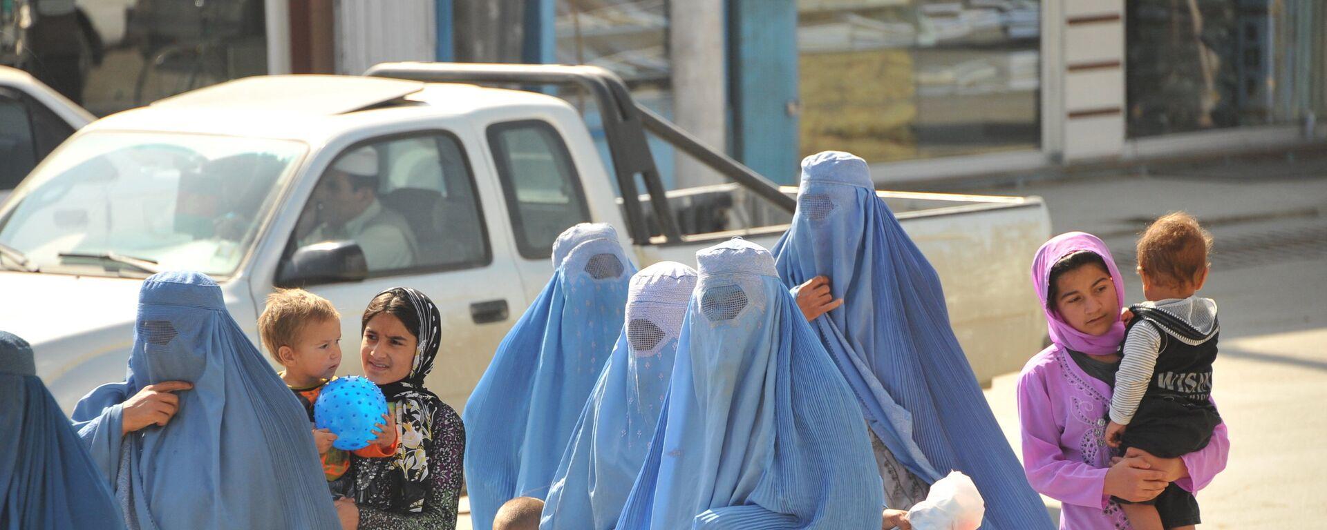 Афганские женщины, архивное фото - Sputnik Таджикистан, 1920, 02.07.2021
