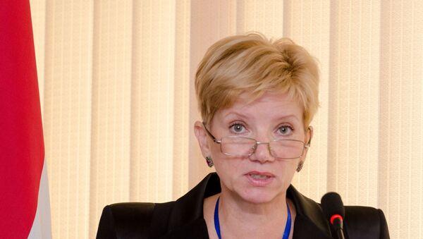 Ольга Ладыгина, архивное фото - Sputnik Таджикистан
