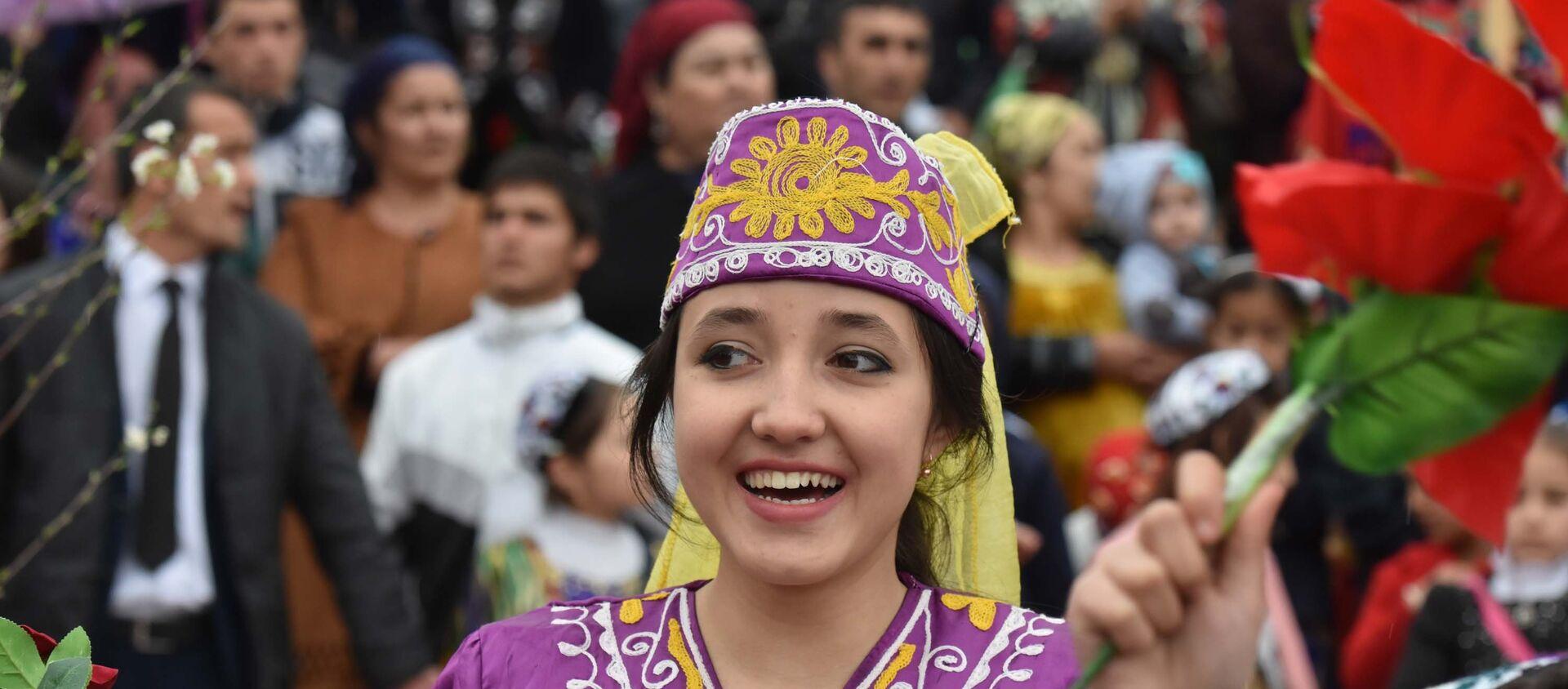 Празднование Навруза в Душанбе - Sputnik Тоҷикистон, 1920, 04.04.2021