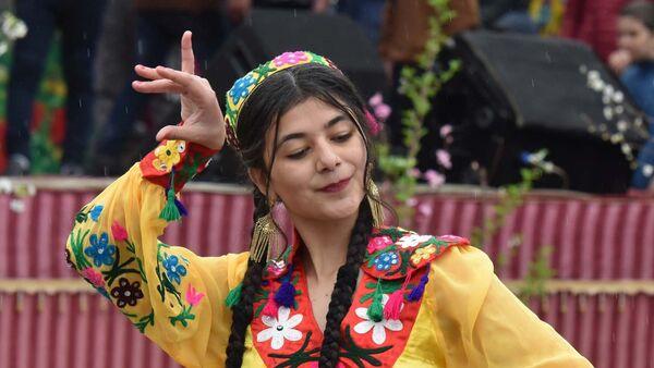 Празднование Навруза в Душанбе, архивное фото - Sputnik Таджикистан