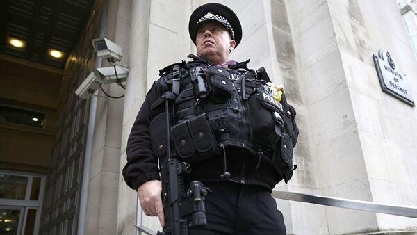 Полицейский в Великобритании - Sputnik Таджикистан