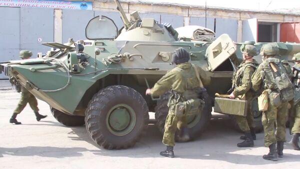 Таджикистан и Россия проводят совместные антитеррористические учения   - Sputnik Тоҷикистон