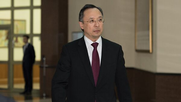 Министр иностранных дел Казахстана Кайрат Абдрахманов, архивное фото - Sputnik Таджикистан