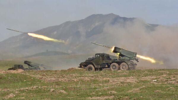 Военные учения России и Таджикистана - Sputnik Таджикистан
