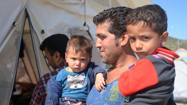 Беженцы из Афганистана, архивное фото - Sputnik Таджикистан