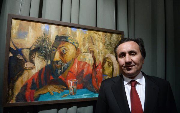 Выставка Дорога домой, Чрезвычайный и Полномочный посол Таджикистана в РФ Имомуддин Сатторов - Sputnik Таджикистан