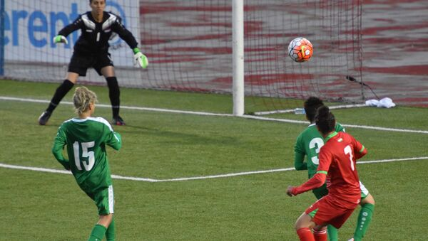 Лучшие моменты женской сборной Таджикистана по футболу в отборочном туре кубка Азии - Sputnik Тоҷикистон