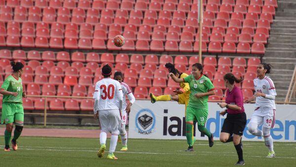 Женская национальная сборная Таджикистана - заключительный матч отборочного турнира Кубка Азии - Sputnik Тоҷикистон