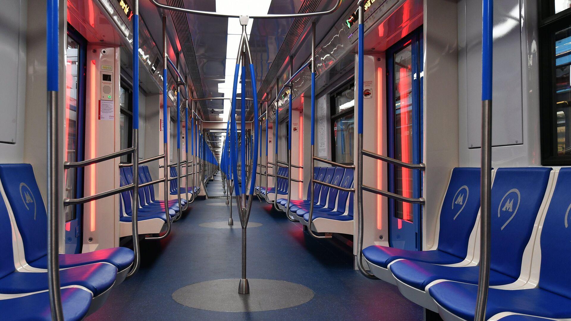 Запуск первых поездов Москва на Таганско-Краснопресненской линии - Sputnik Таджикистан, 1920, 14.09.2021