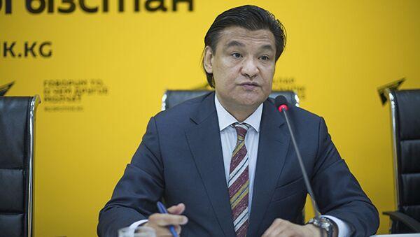 Председатель комитета по промышленной политике Торгово-промышленной палаты Кыргызстана Кубат Рахимов - Sputnik Тоҷикистон