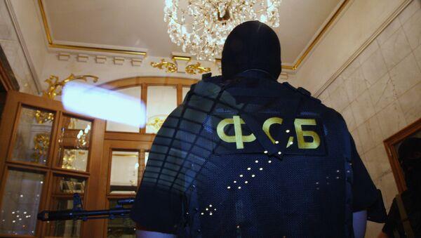 Сотрудник Федеральной службы безопасности РФ, архивное фото - Sputnik Таджикистан