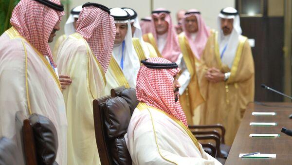 Представители высших государственных чинов королевства Саудовская Аравия, архивное фото - Sputnik Тоҷикистон