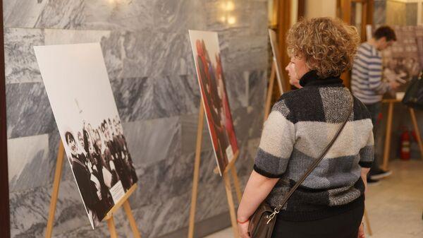 Фотовыставка Красный Крест и Красный Полумесяц в Музее истории медицины - Sputnik Таджикистан