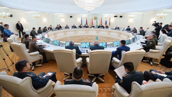 Заседание военного комитета ОДКБ в Минске - Sputnik Таджикистан