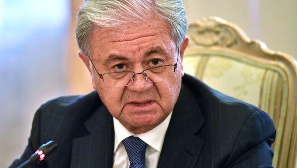 Глава МД РФ С. Лавров открыл полит-консультации стран-членов ШОС в Москве - Sputnik Таджикистан