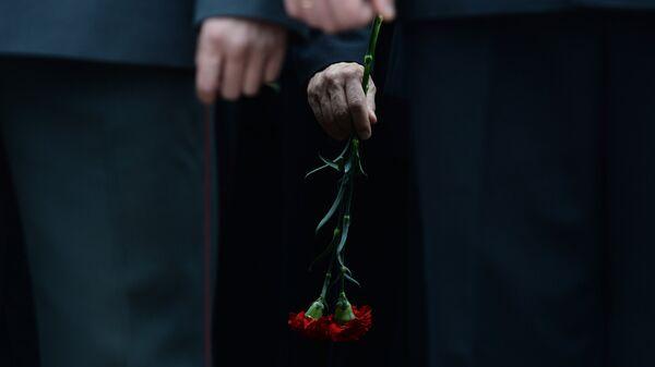 На похоронах, архивное фото - Sputnik Таджикистан