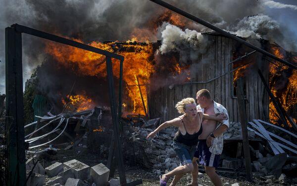 Фотографии серии Черные дни Украины - Sputnik Таджикистан