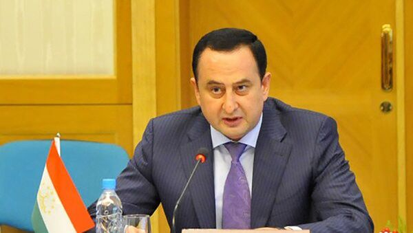 Первый вице-премьер Таджикистана Давлатали Саид - Sputnik Тоҷикистон