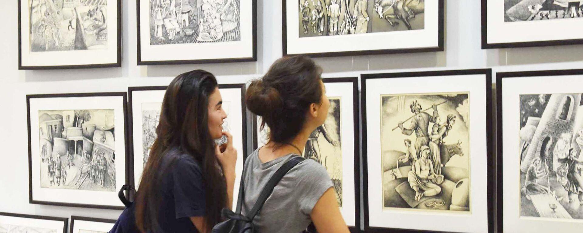Международная выставка посвященная дню городу Душанбе - Sputnik Таджикистан, 1920, 07.07.2020