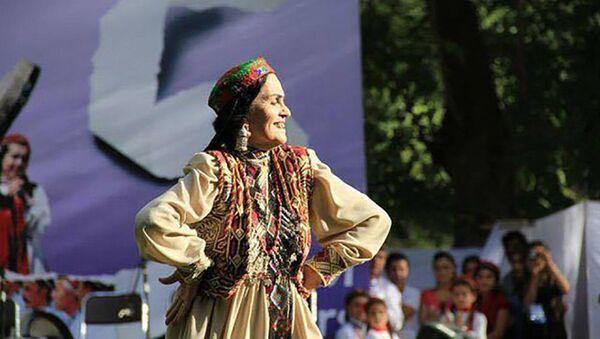 Заррагул Искандарова - народная артистка Таджикистана - Sputnik Таджикистан