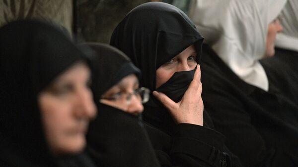 женщины в парандже, архивное фото - Sputnik Таджикистан