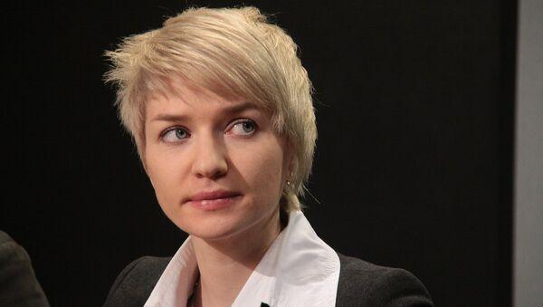 Пресс-секретарь акции Бессмертный полк 2017 Елена Калгина - Sputnik Таджикистан