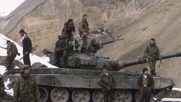 Гражданская война в Таджикистане - Sputnik Тоҷикистон